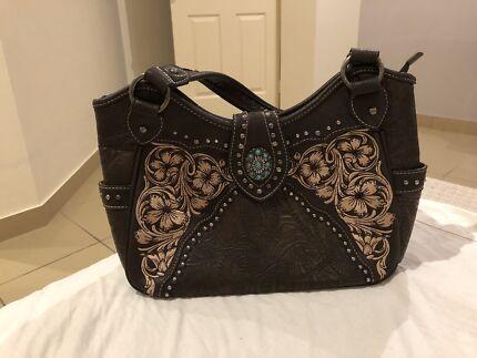 Montana West Leather handbag