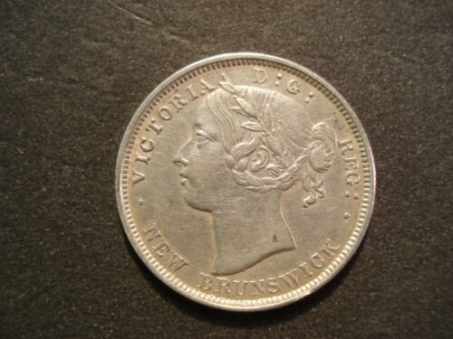 1862 New Brunswick  20 Cents