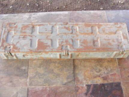 WWII STEEL RIFLE BOX DATED 1941 Dalby Dalby Area Preview