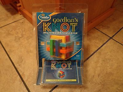 2005 THINKFUN--GORDIAN'S KNOT BRAINTEASER CHALLENGE PUZZLE (NEW)](Gordian Knot Puzzle)