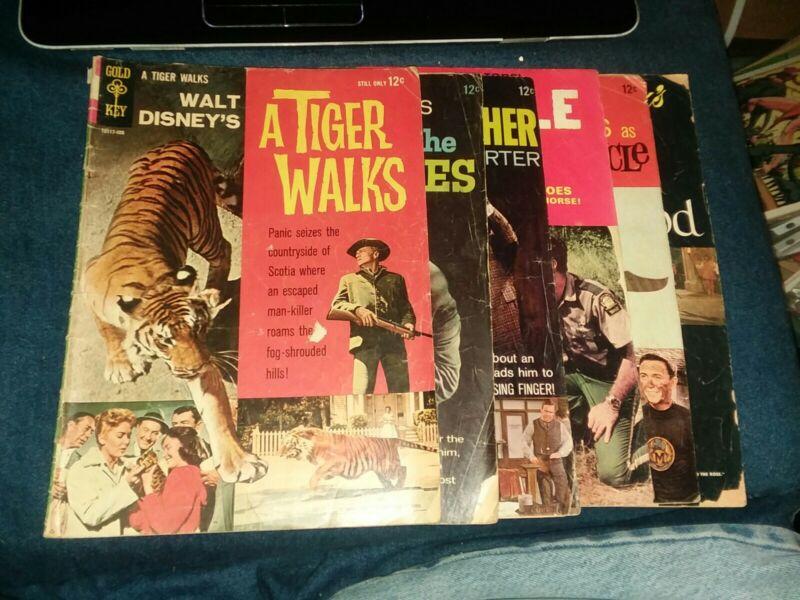 Dell Gold Key Movie Classics 6 issue Golden Silver Age Comics Lot Run Collection