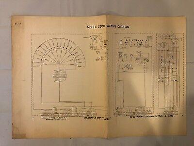 Wurlitzer Model 3300 Jukebox Diagram