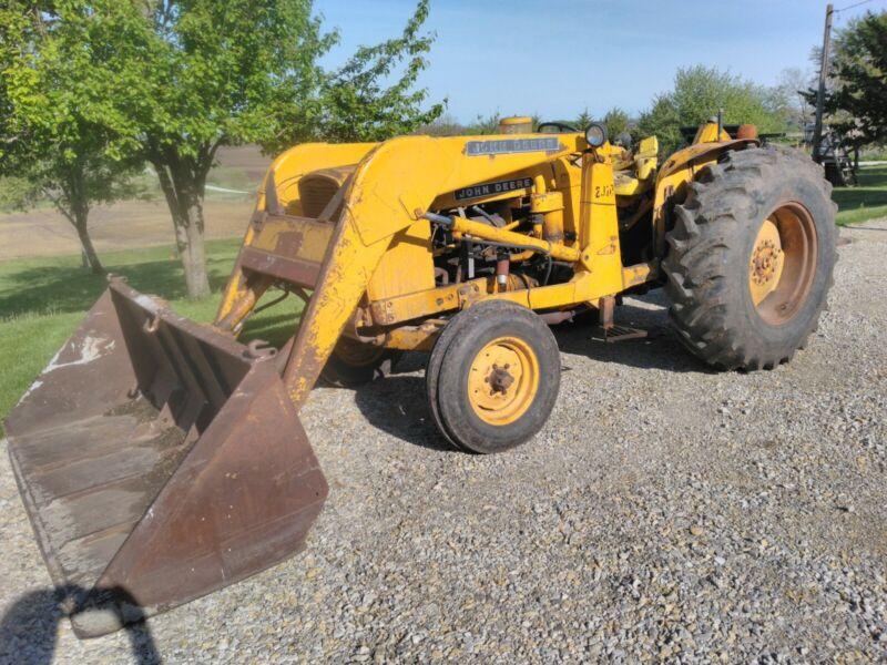 """1963 John Deere """"2010 Wheel"""" Industrial Tractor"""