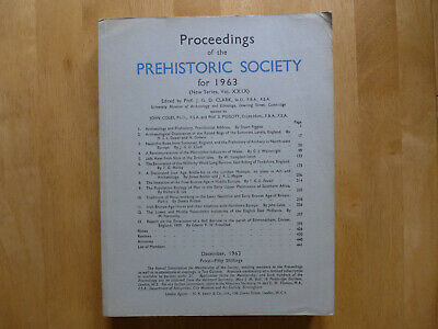 Proceedings Of The Prehistoric Society 1963