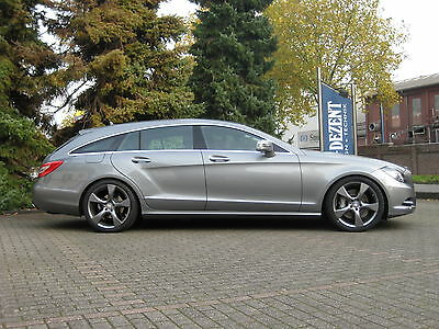 Tieferlegung Airmatic Mercedes CLS 350  SHOOTING BRAKE  X218 Perfektes Set-Up !