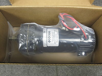 Bison Series 190 Dc Gear Motor 110 Hp 24 Volts 73 Rpm 011-190-1125