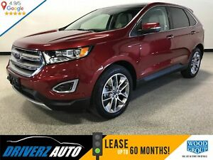 2017 Ford Edge Titanium CLEAN CARFAX,180 CAMERA, PARK ASSIST...
