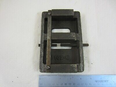 Atlas Craftsman 10 12 Lathe Tail Stock Base Bottom Cast 10d-6