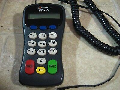 First Data Fd10 Pin Pad For Fd50ti Fd100ti Fd130 Fd200