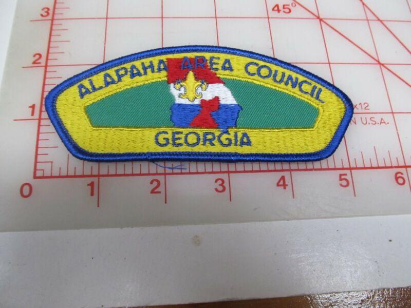Alapaha Area Council CSP collectible PB patch (o34)