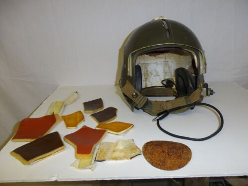 Fl-12 Vietnam era APH-5 Flight Helmet Ballistic original  IR16T