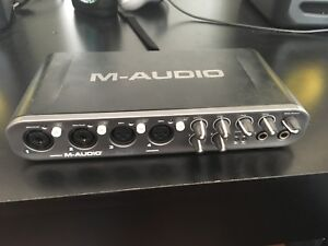 M audio fast track ultra interface