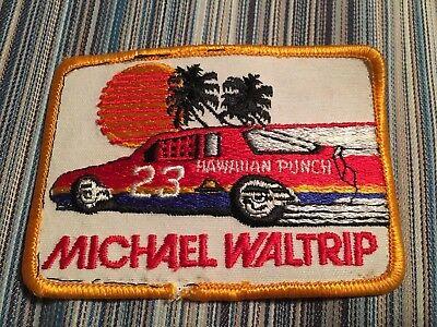 Racing-nascar Michael Waltrip Hawaiian Punch Racing Patch