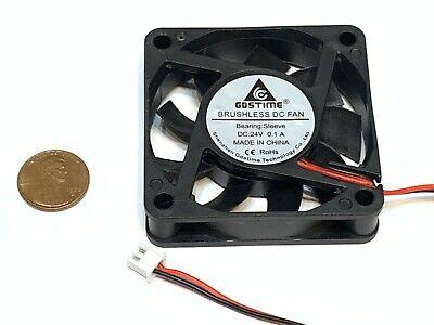2 Pieces 6010 Gdstime Fan 5v 60mm 6cm Cooling Ventilation Axial Cooler C32