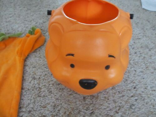 Halloween Winnie the Pooh Trick or Treat Bucket and Pumpkin One pc - 6MO Talbots