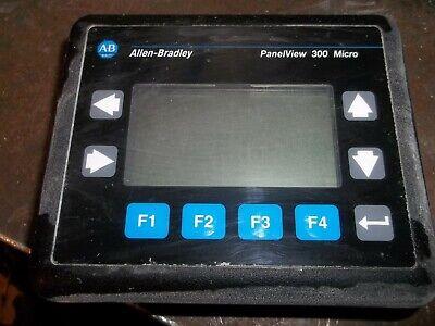Allen Bradley 2711-m3a18l1 Ser A Frn 4.48 Panelview 300 Micro 24 Vdc 2.5w Dd3