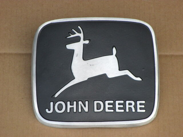 METAL EMBLEM FOR JOHN DEERE JD 2240 2440 2630 2640