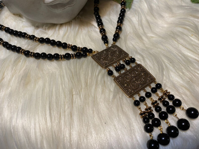 Miriam Haskell Long Gorgeous Necklace!!!