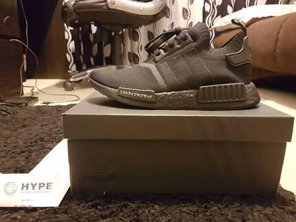 Adidas NMD R1 Primeknit Japan Triple Black US8