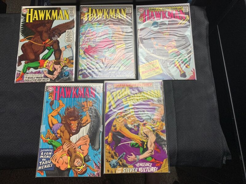 DC Comics Hawkman Silver Age Spectacular Lot. 5 comic books total