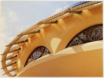 Annunciation Greek Orthodox Church Wisconsin Frank Lloyd Wright Art Postcard Greek Orthodox Church