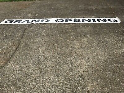 Grand Opening Store Front Banner