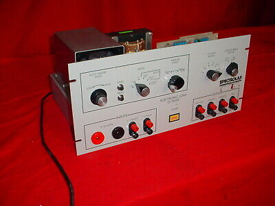 Hughes Aircraft Spectrolab D1550-b Rack Mountable Electronic Load