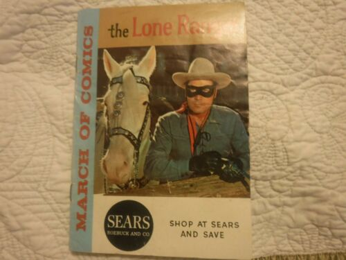 The Lone Ranger Sears Comic Book  March of Comics