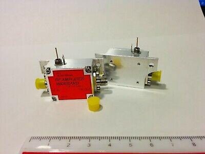 Rf Wideband Amplifier 4-15ghz High Gain High P1.