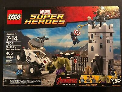 LEGO MARVEL Super Heroes 76041 The Hydra Fortress Smash - RETIRED - SEALED