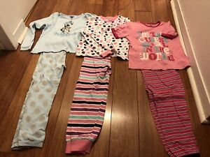Lot de 4 pyjamas fille 6 ans