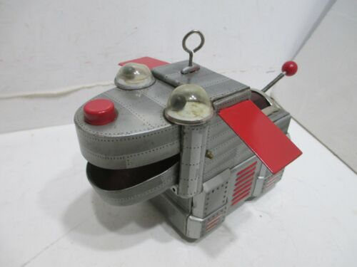 SPACE DOG ROBOT by KO, Japan WIND-UP TESTED WORKS GOOD