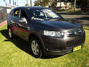 2014 Holden Captiva 7 LS Automatic SUV Leumeah Campbelltown Area Preview