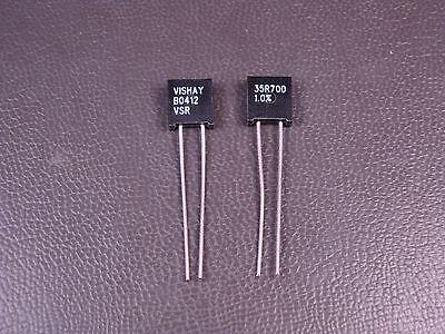Y007535r7000f0l Vishay Metal Foil Resistor 35.7 Ohm 1 300mw 13w Radial Nos