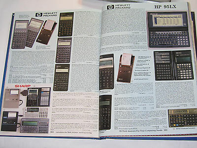 VINTAGE 1992 CATALOG! HP & TI CALCULATORS! SONY WALKMAN! DIGITAL WATCHES! HP TI