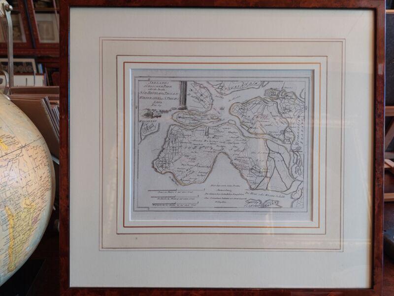Antique Map of Southern Zeeland by Von Reilly (1790)