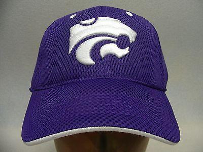 Wildcats Ncaa Soccer Ball (KANSAS STATE WILDCATS - NCAA/FBS/BIG 12 - ONE FIT FLEX BALL CAP HAT!)