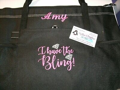 I have the Bling Paparazzi Please Personalized Tote Bag  Jewelry - Personalized Tote