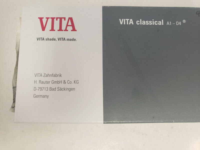 Vita Classical Shade Guide A1-D4, Vident Part #G68-990