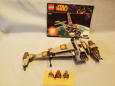 LEGO Star Wars # 75050 B-Wing - Complete, Instructions, Ten Numb, Airen Cracken