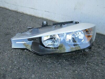 em90990 BMW 320i 328i 335i Sedan 2012 2013 2014 2015 LH Halogen Headlight OEM