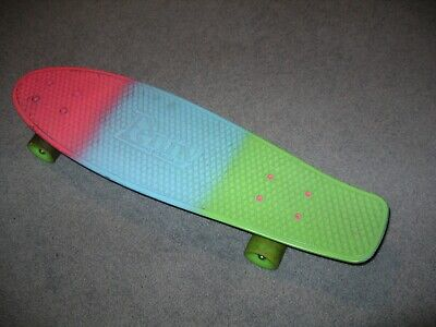 "Authentic Nickel Penny Australia 27"" Skateboard No Res"