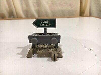 Sodor Airport Buffer Track for Thomas and Friends Trackmaster