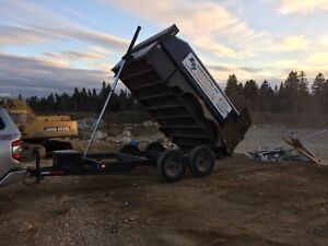 Dump trailer 160/load/day