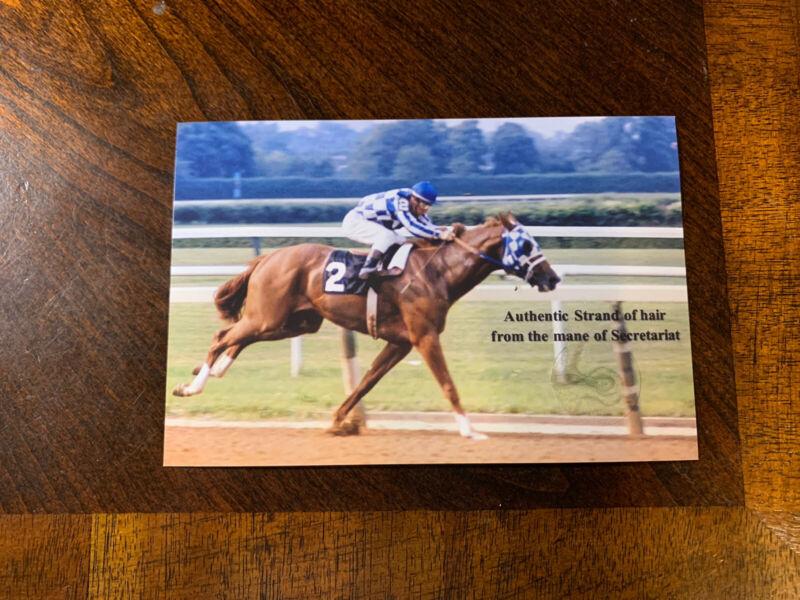 Secretariat Hair Strand Lock Relic Historic Horse Mane Kentucky Derby Racehorse
