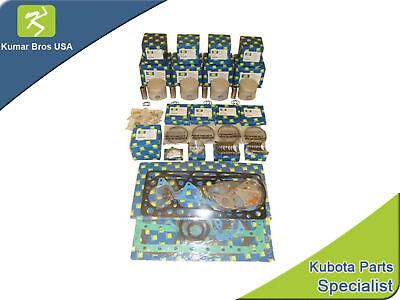 New Aftermarket Bobcat 743 Overhaul Kit Std Kubota V1702