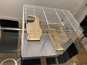 Cage pour chinchilla ou rongeur - Chinchilla or rodent cage