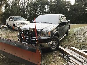 Ford F-150 2006 lariat with plow