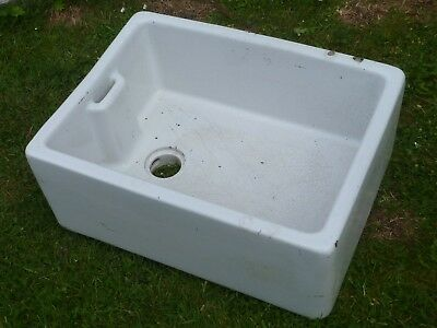 Vintage Belfast Butler Sink - Planter Trough / Exterior Sink / Water Feature etc