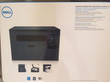 Dell B1163w mono laser 3 in 1 printer  Allenby Gardens Charles Sturt Area Preview